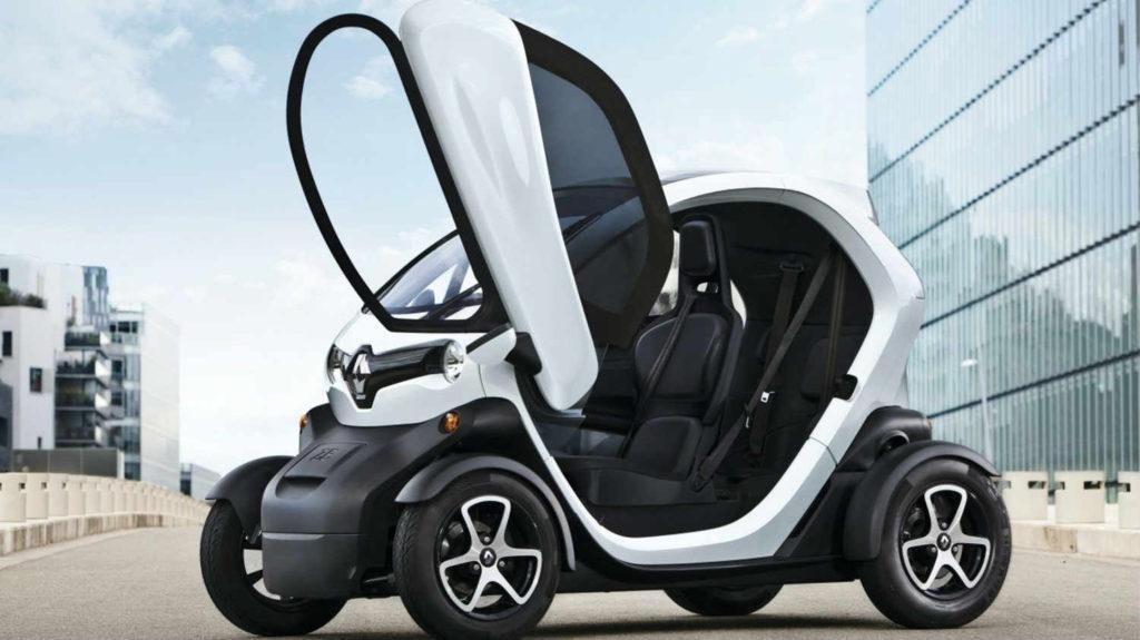 Renault Twizy voiture électrique sans permis