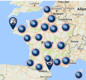 Réseau français du constructeur Aixam